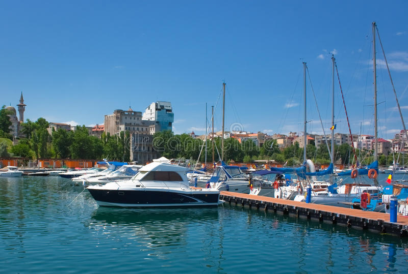 Download Boats In The Port Stock Photography - Image: 14641222