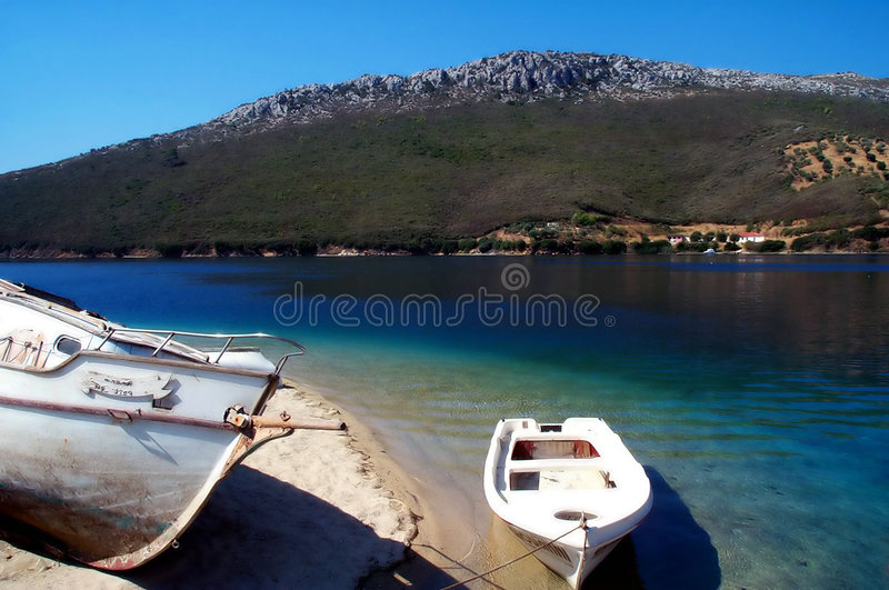 Download Boats resting stock photo. Image of travel, greeks, fishing - 458