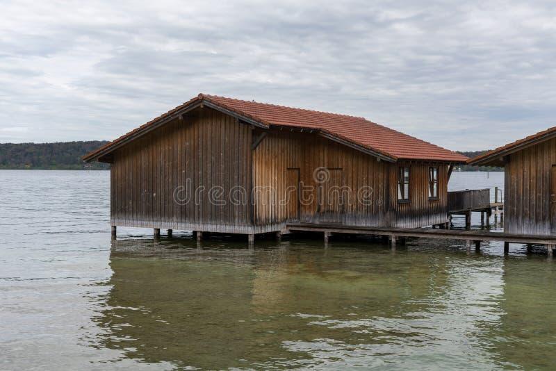 Boatshouse zdjęcie stock