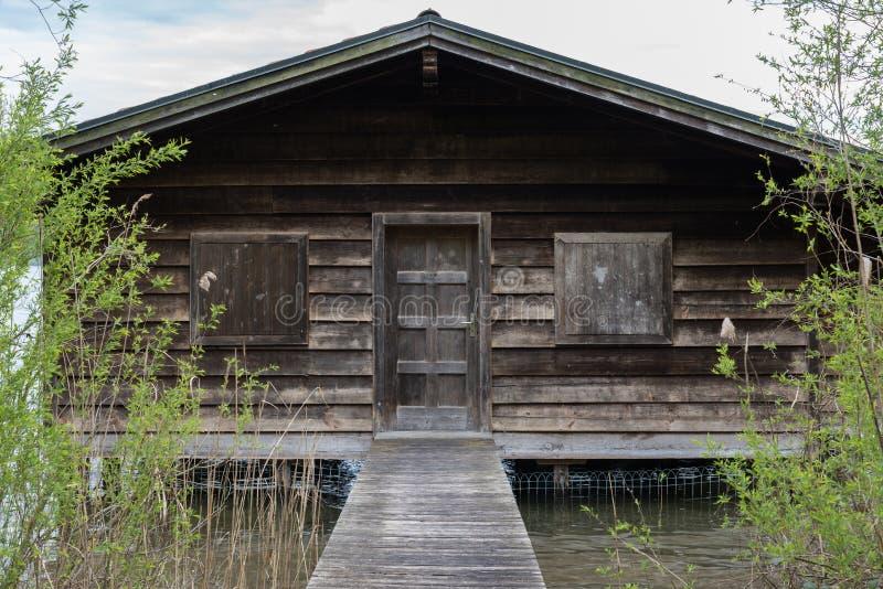 Boatshouse foto de archivo