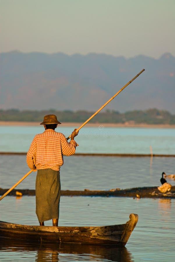Boatsman stock afbeeldingen