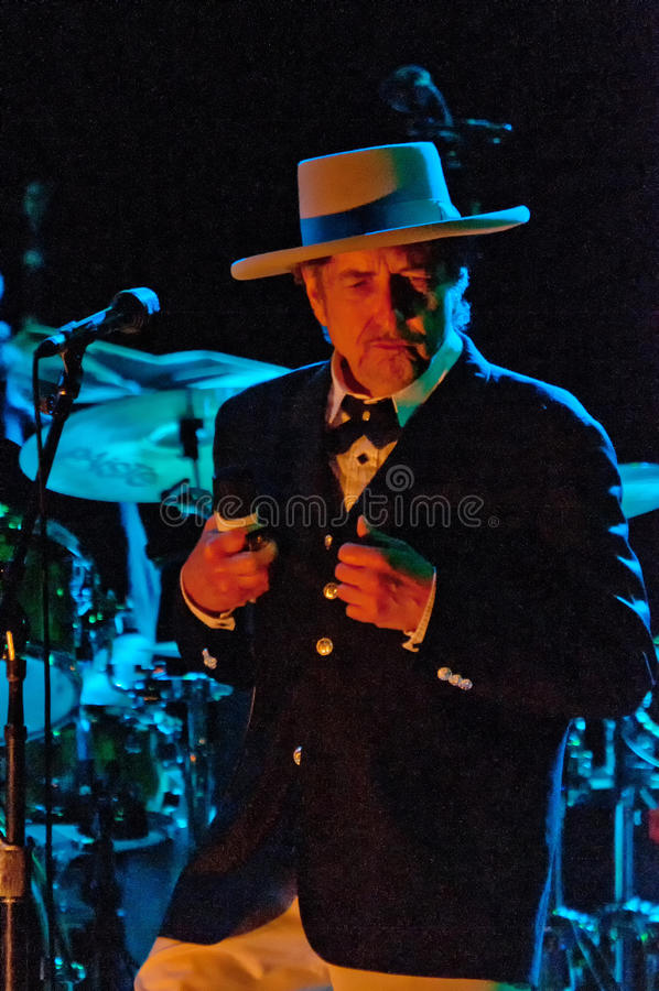 Bob Dylan foto de stock