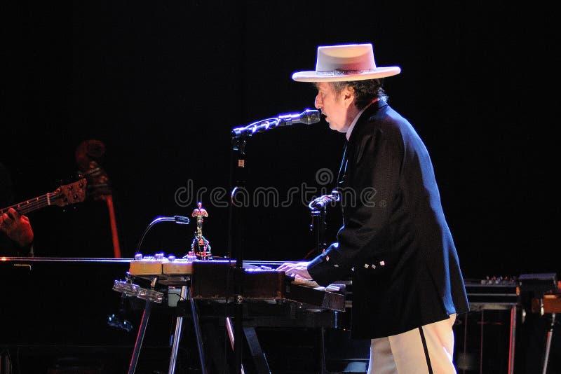 Bob Dylan executa FIB foto de stock