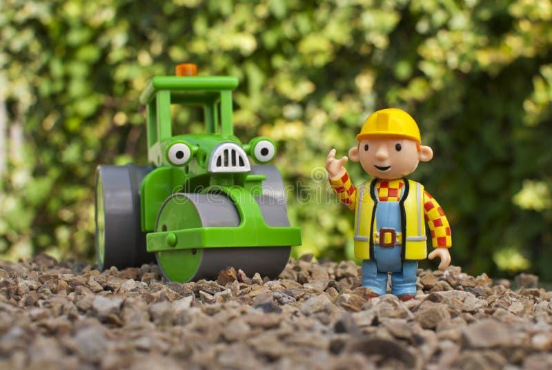 Bob le constructeur et le Roley photo libre de droits
