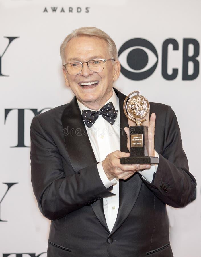 Bob Mackie Wins chez Tony Awards 2019 photographie stock libre de droits