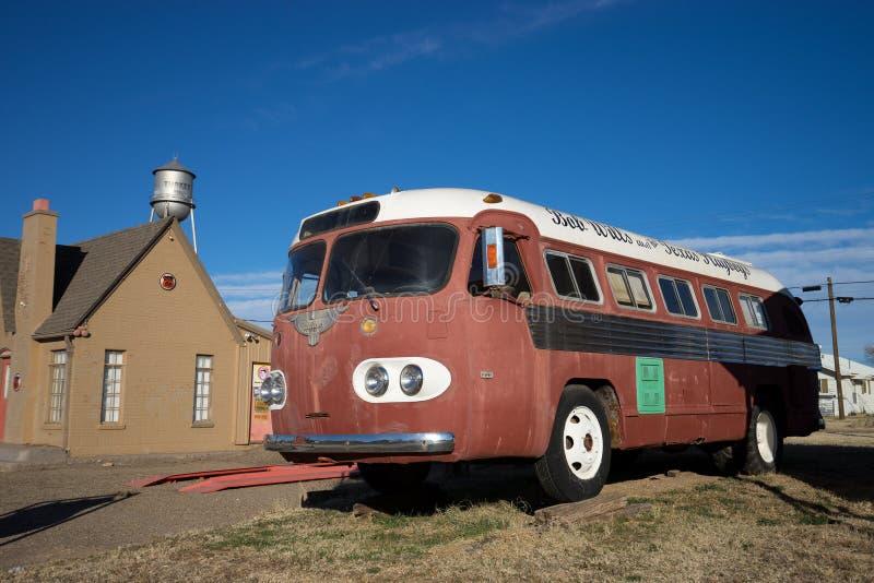Bob quiere el bus turístico del cantante de country foto de archivo