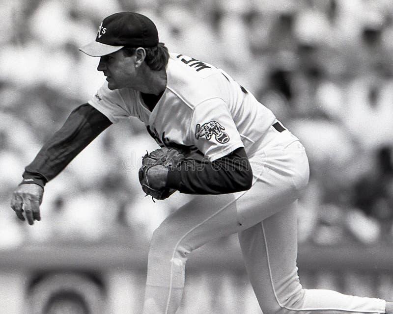 Bob Welch, Oakland Athletics photos libres de droits