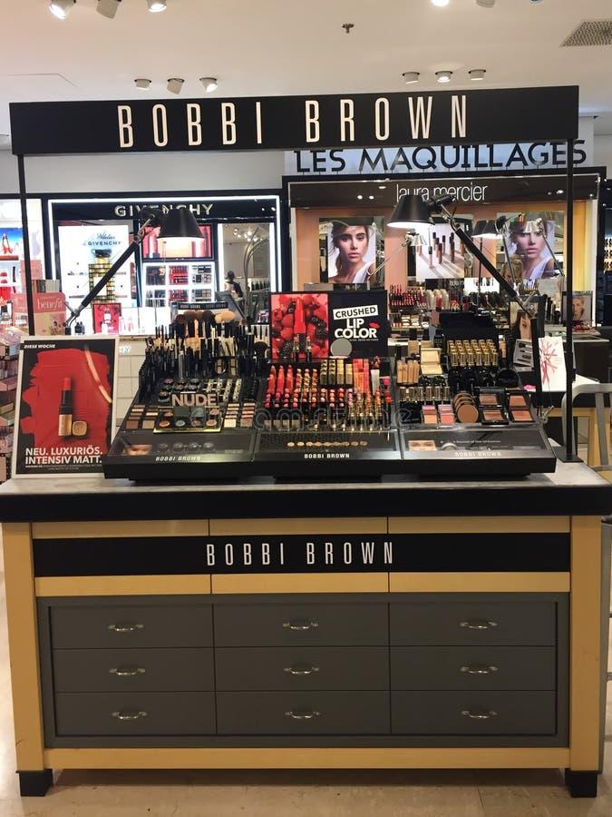 Bobbi Brown Cosmetics photo libre de droits