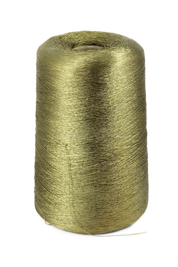Bobbin of nylon thread royalty free stock photo