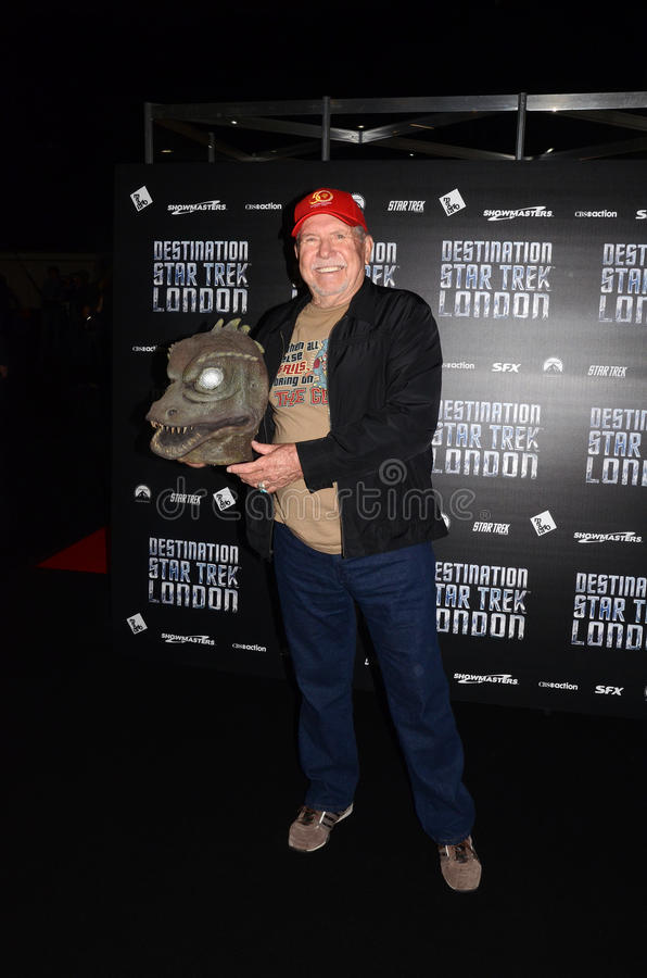 Download Bobby Clark At Destination Star Trek In  London Docklands 19th O Editorial Stock Image - Image: 27808159