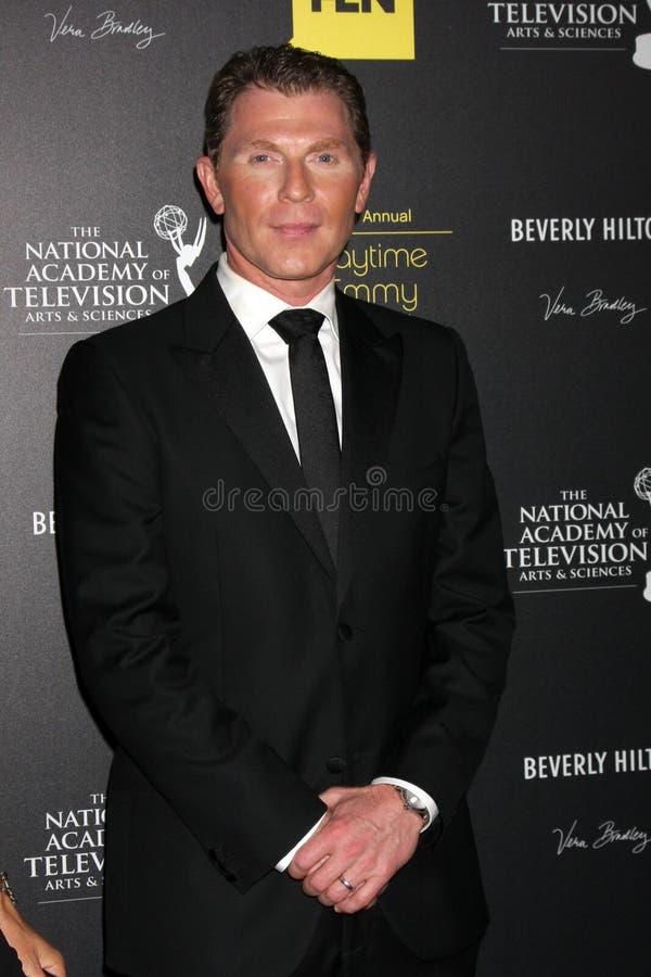 Bobby Flay arriva ai 2012 Premi Emmy di giorno fotografie stock