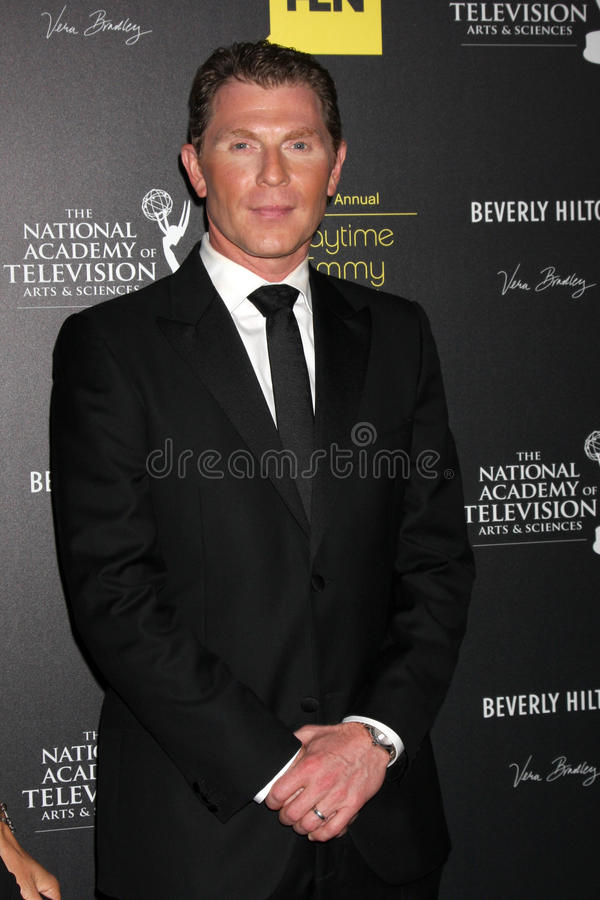 Bobby Flay arrives at the 2012 Daytime Emmy Awards stock photos