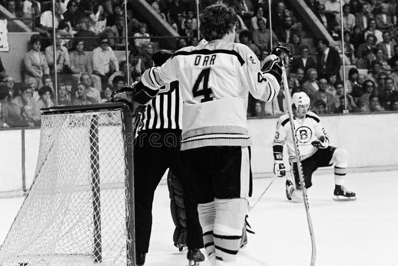 Bobby Orr, Boston Bruins fotografia stock