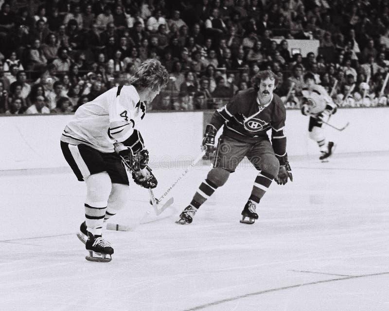 Bobby Orr Boston Bruins fotografie stock libere da diritti