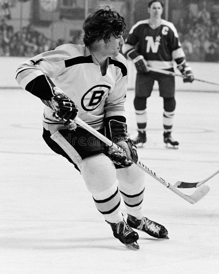 Bobby Orr Boston Bruins royalty free stock images