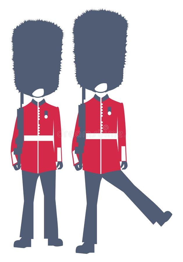Bobby, polizia royalty illustrazione gratis