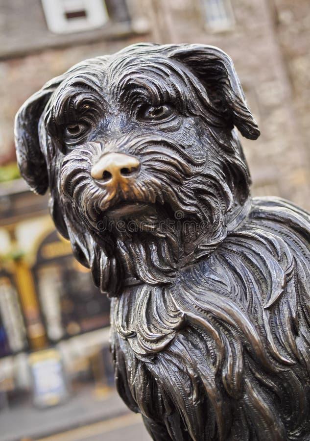 Bobby statua w Edynburg zdjęcie stock