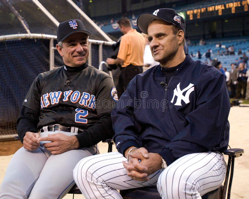 Bobby Valentine and Joe Torre royalty free stock photography