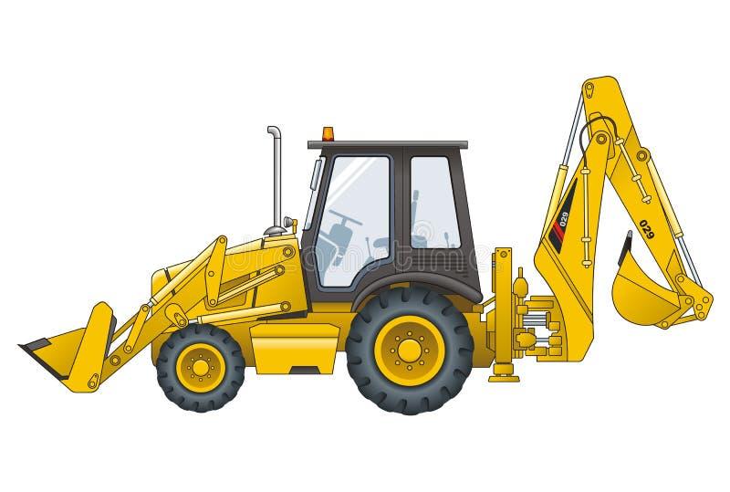 Download Bobcat vektor illustrationer. Illustration av kran, transport - 26860170