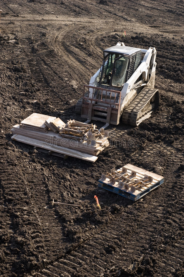 Download Bobcat stock image. Image of hoisting, tractor, excavation - 6898821
