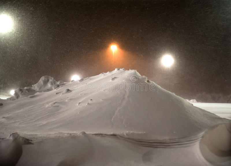 Download Bobcat removing snow stock image. Image of sleet, snowdrift - 18148517