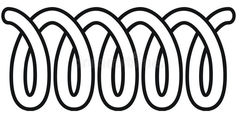 Bobina ilustração do vetor