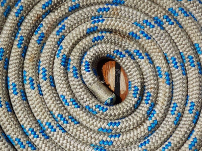 Bobina da foto da textura da corda foto de stock