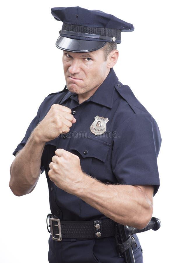 Bobina da intimidação no fundo branco fotografia de stock