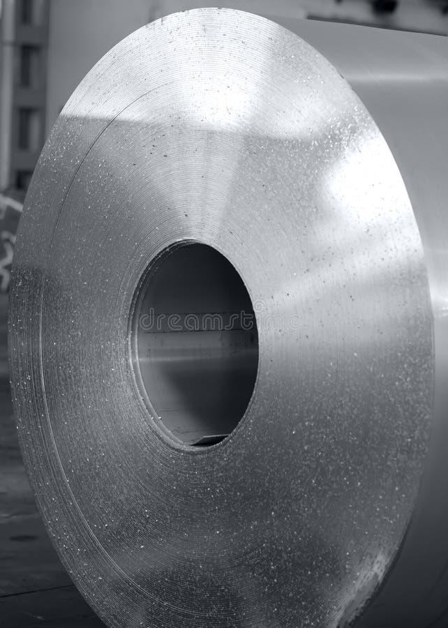 Bobina de alumínio pesada imagem de stock
