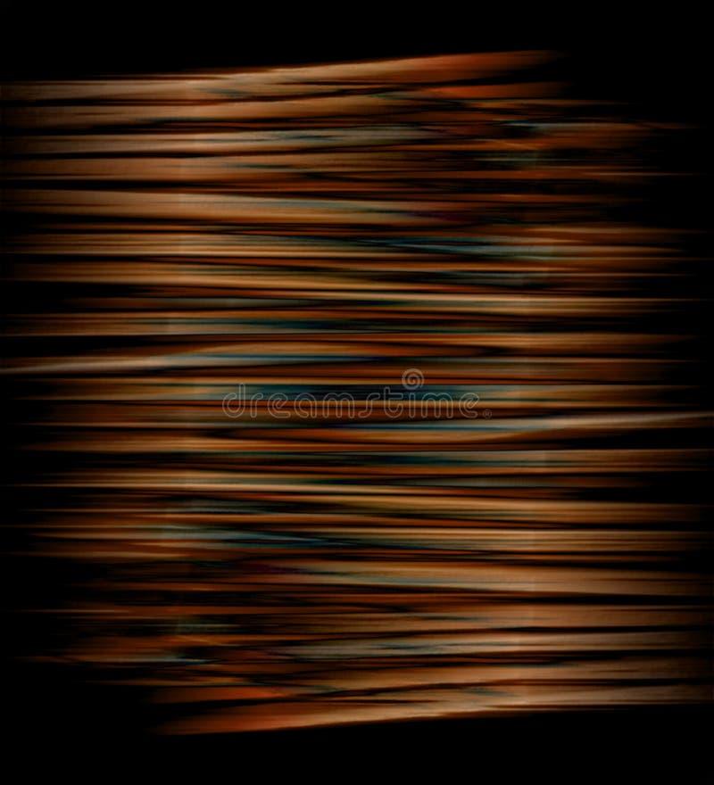 Bobina de cobre ilustração stock