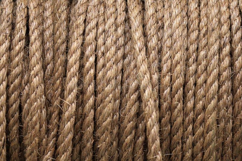 Bobina de corda imagem de stock