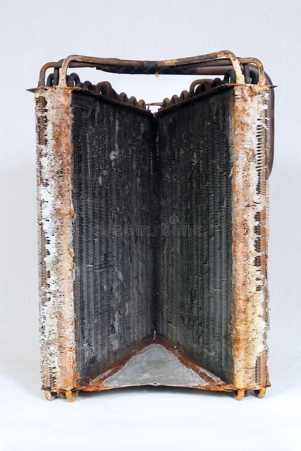 Bobina de evaporador velha (9) imagens de stock royalty free