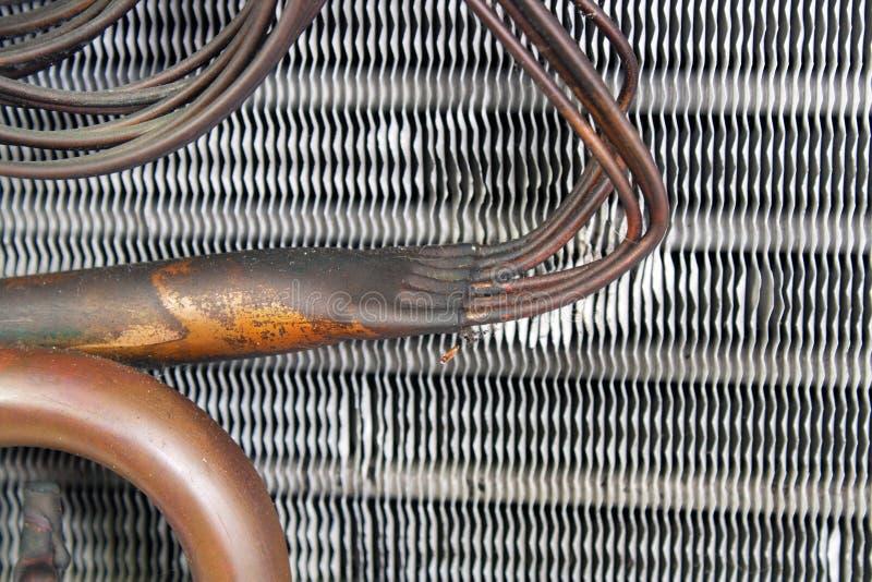 Bobina de evaporador velha (13) fotos de stock royalty free