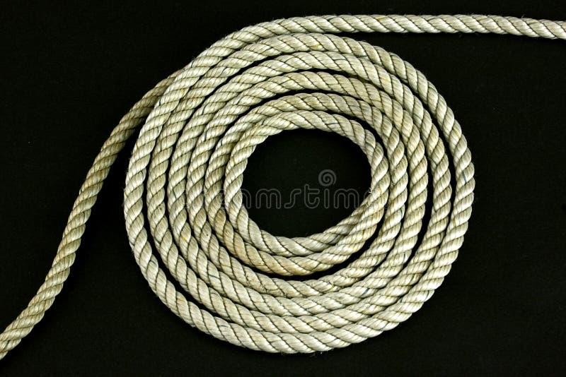 Bobina de la cuerda foto de archivo