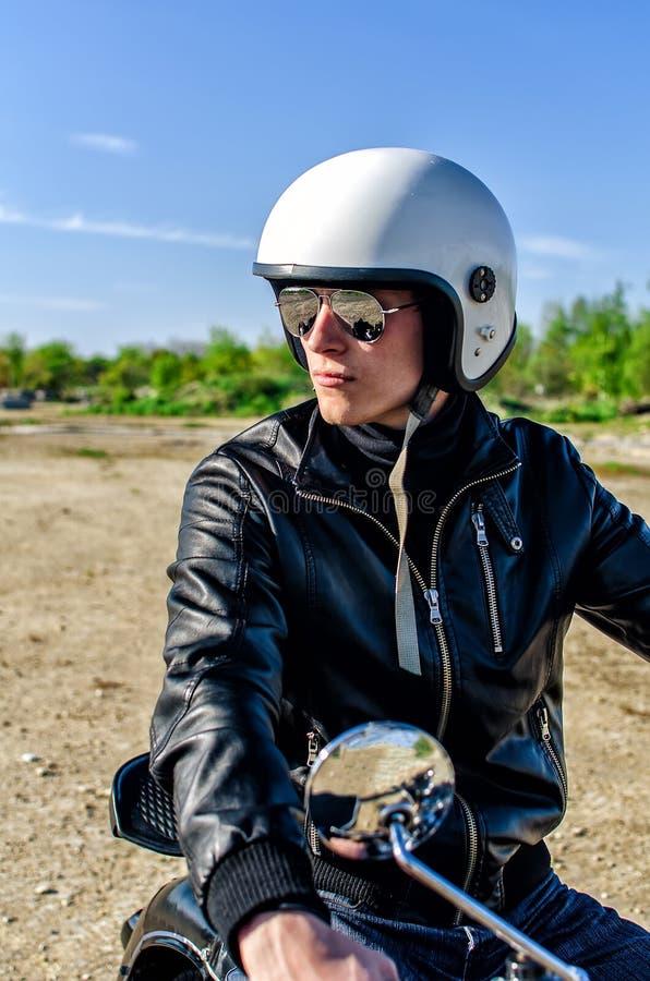 Bobina de motocicleta foto de stock