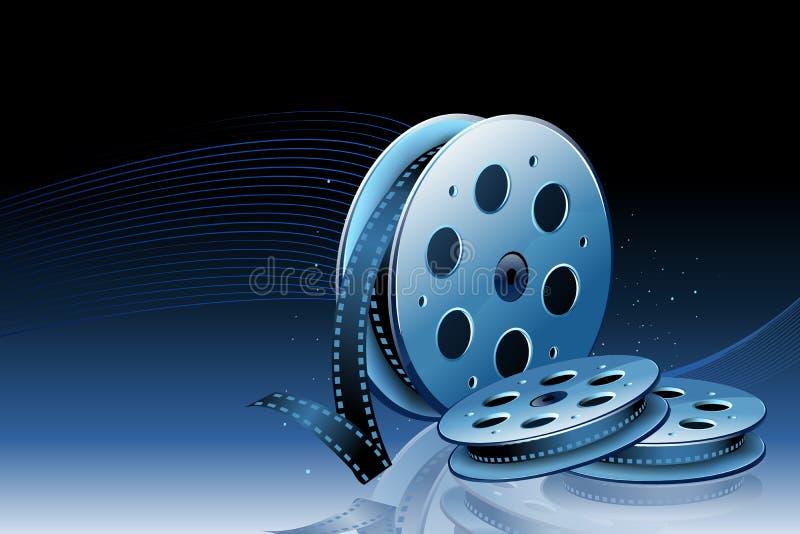 Bobina di film illustrazione di stock