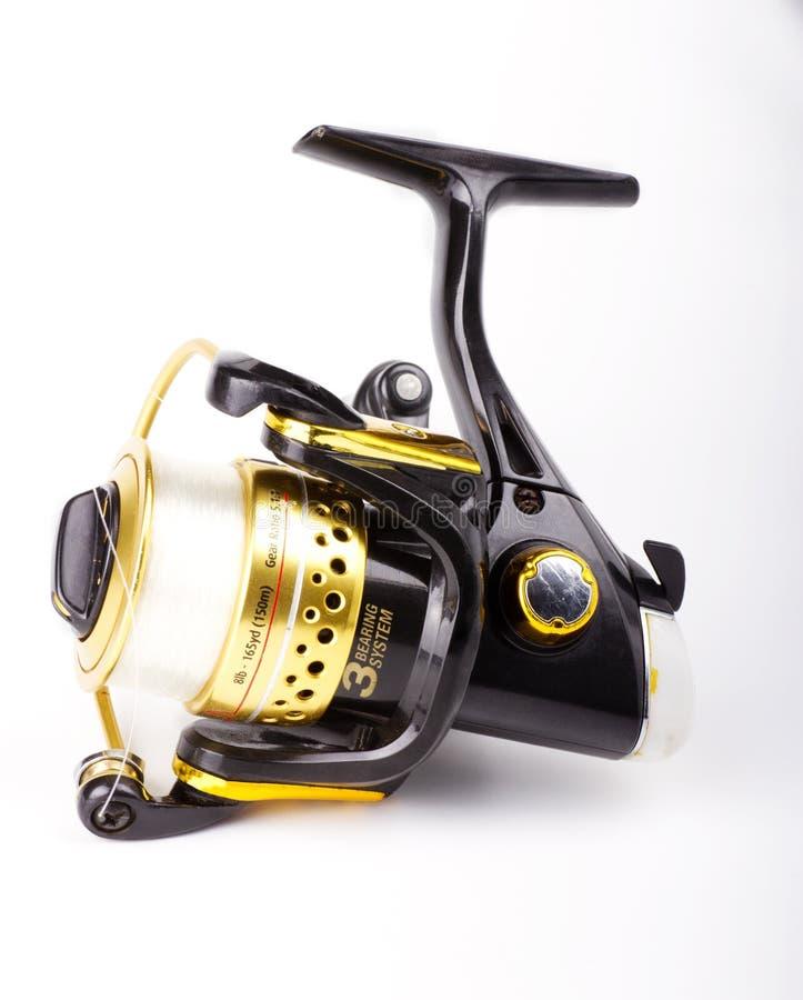 Bobina di pesca fotografie stock