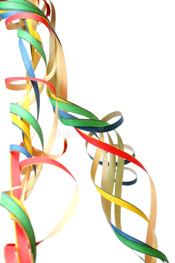 Bobinadores de cintas en modo continuo del partido foto de archivo
