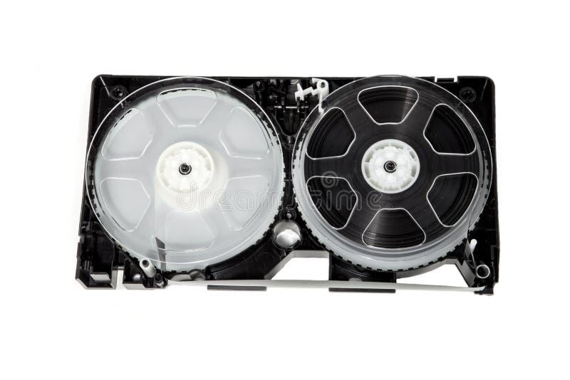 Bobinas del VCR imagen de archivo libre de regalías