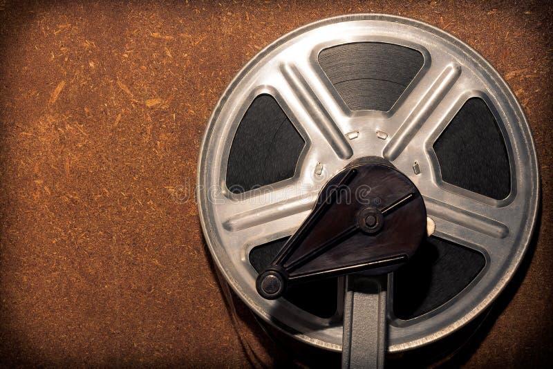 Bobine avec le film photographie stock libre de droits