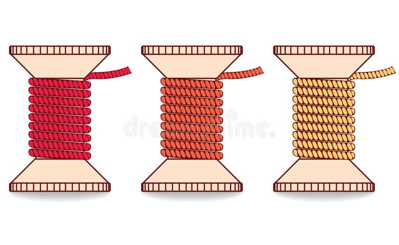 Bobine de bande de roulement illustration stock