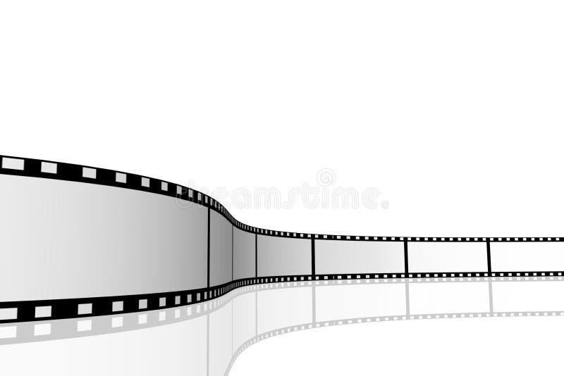 Bobine de cinéma illustration stock