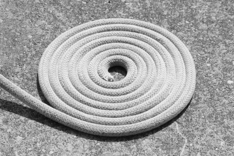 Bobine de corde photographie stock