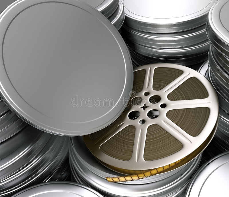 Bobine de film (cadres) illustration libre de droits
