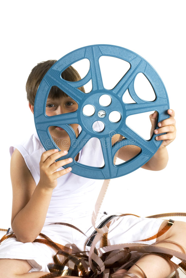 Bobine de film de celluloïde photos libres de droits