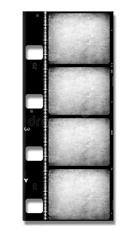 bobine de film de film de 8mm illustration de vecteur