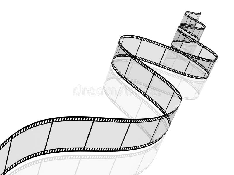 Bobine de film photographique illustration de vecteur