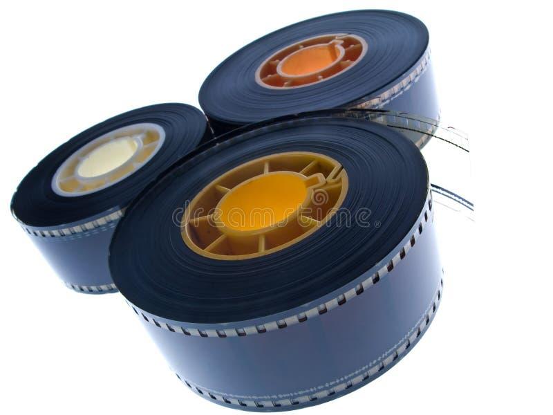 Bobine di pellicola   immagine stock