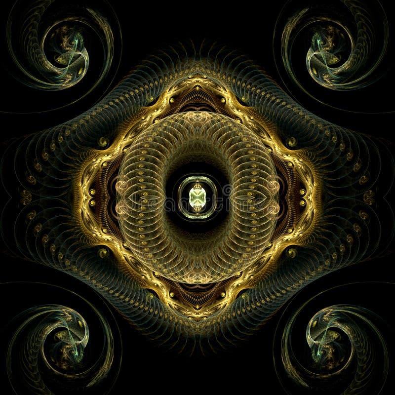 Bobine e spirali illustrazione vettoriale