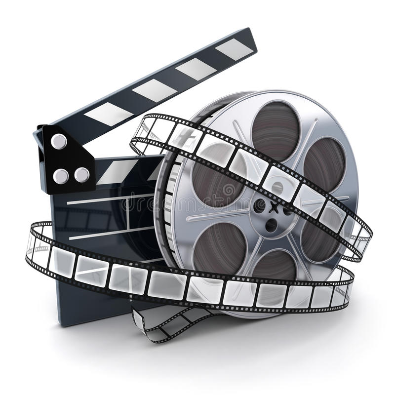 Bobine et film illustration libre de droits